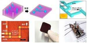 今回作製したマイクロリアクター(出所:京都大学)